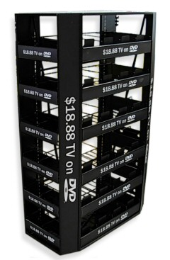 DVD Display Rack